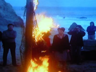 ゾンゲリア:火だるま