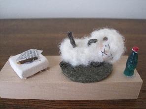 ストレッチ羊4