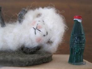 ストレッチ羊2