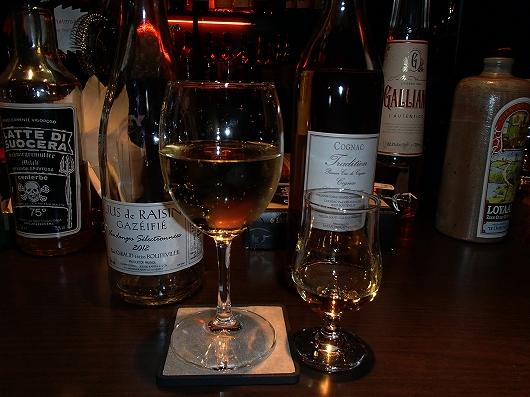 ブドウジュースとブランデー20121222