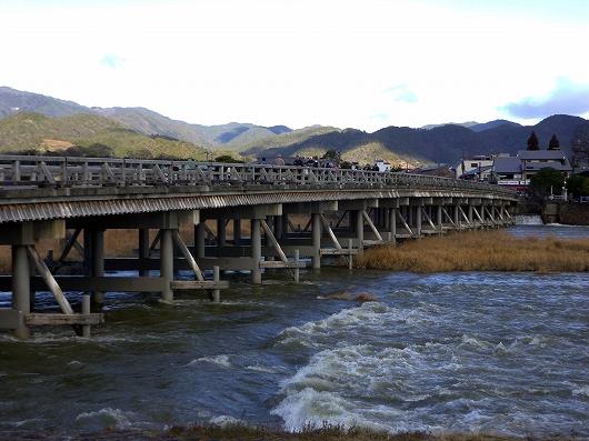 渡月橋20121231