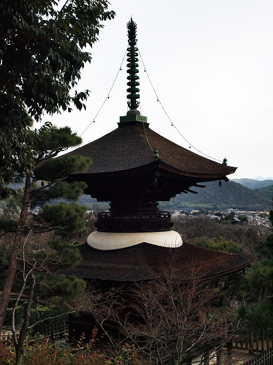 常寂光寺・多宝塔2-20121231