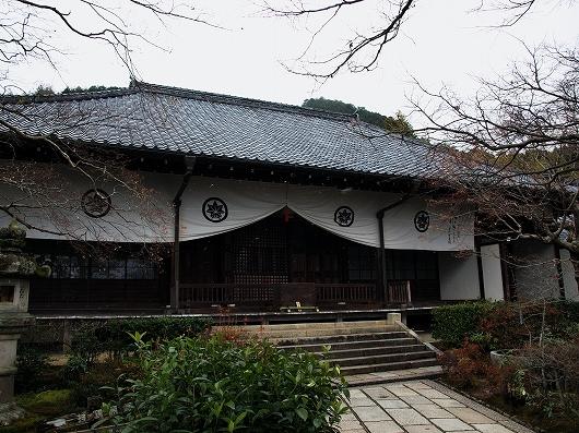 常寂光寺・本堂20121231