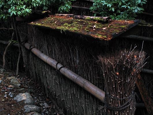 祇王寺・塀20121231