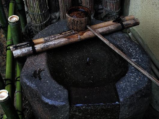 祇王寺・水琴窟20121231