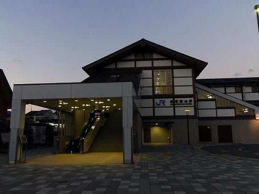 嵯峨嵐山駅20121231