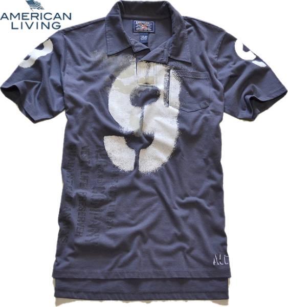 アメリカンリビング画像ポロシャツ01