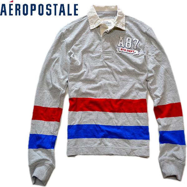 エアロポステール新品ラグビーシャツ03