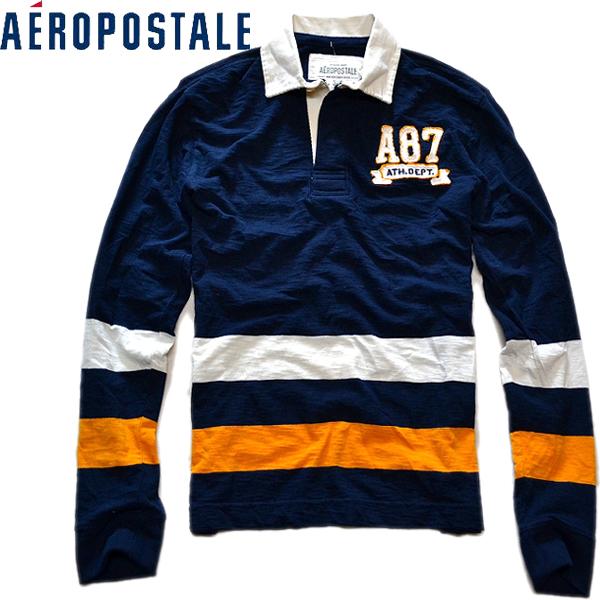 エアロポステール新品ラグビーシャツ01