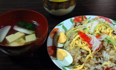 14.10.12ちらし寿司