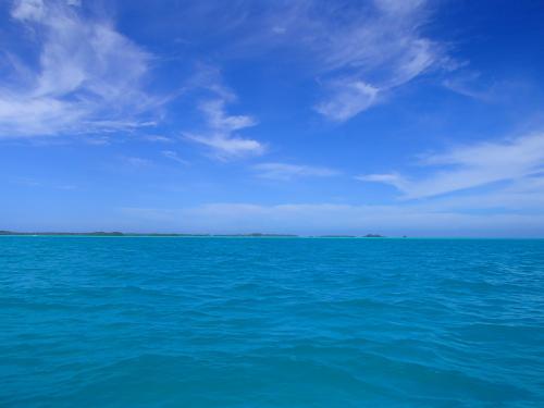 快晴・きれいな海
