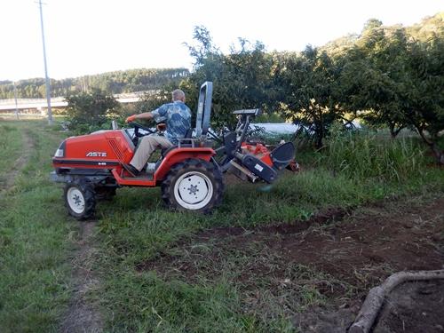 2014.10.3 トラクターで耕作 008 (7)