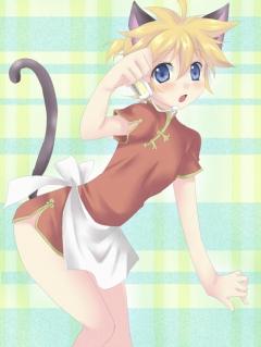 チャイナな猫レン_punchiki_201002032051