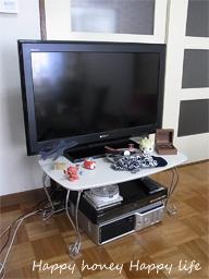 テレビ台。。