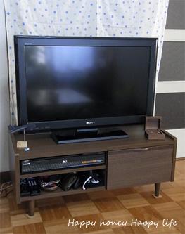 テレビボード。