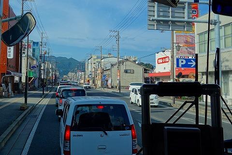 新宮市内の渋滞