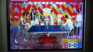 MUSIC JAPAN 卓球対決