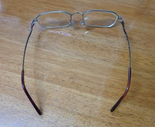 1愛用のメガネ