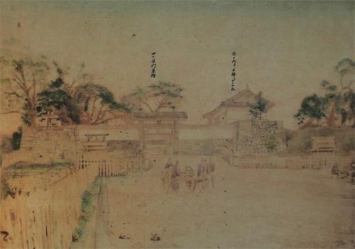 江戸城四谷見附古写真