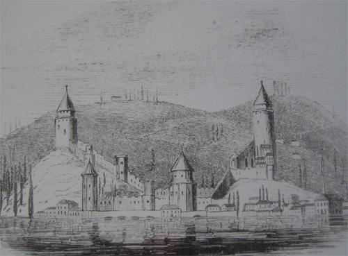 ルメリ・ヒサル復元想像図