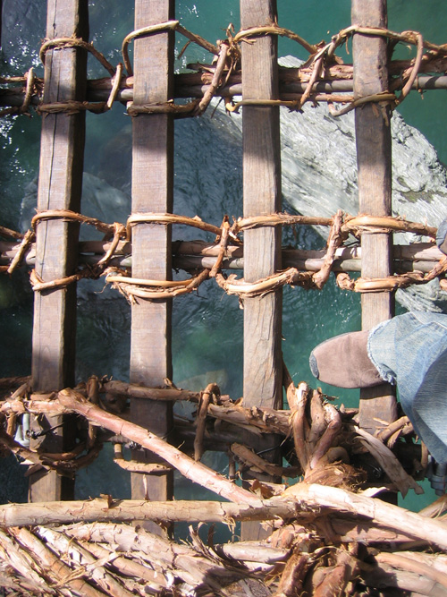 祖谷のかずら橋 004