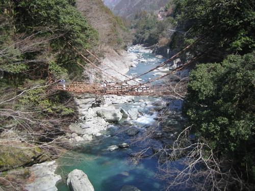 祖谷のかずら橋 011