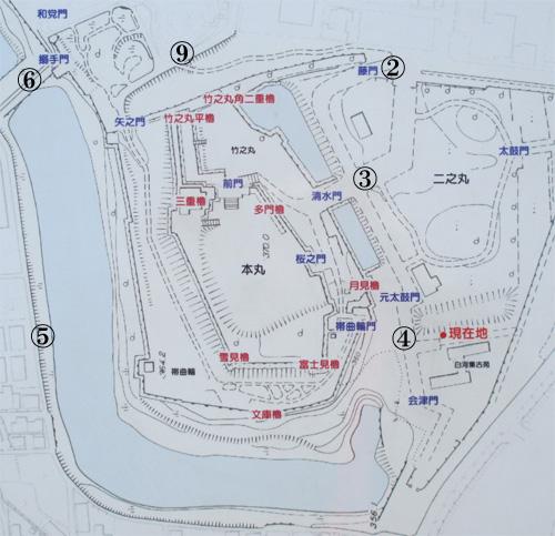 白河小峰城地図1