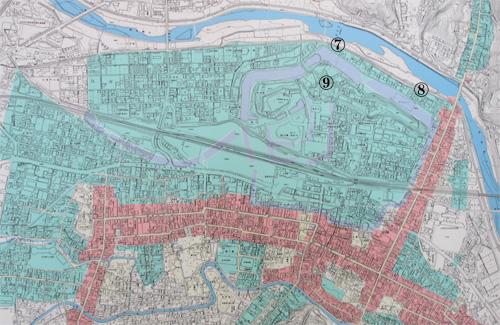 白河小峰城地図2