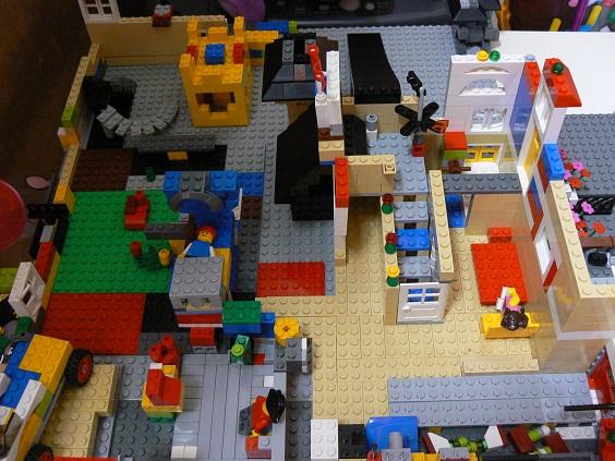 欠席中 レゴ2