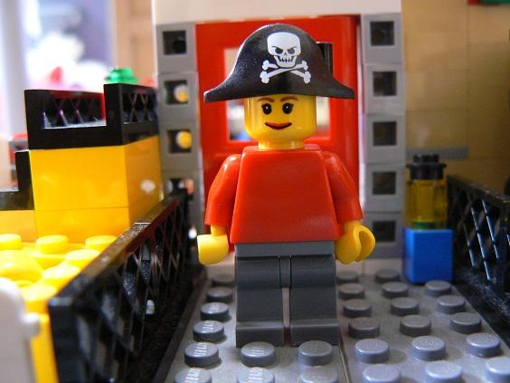 欠席中 レゴ3