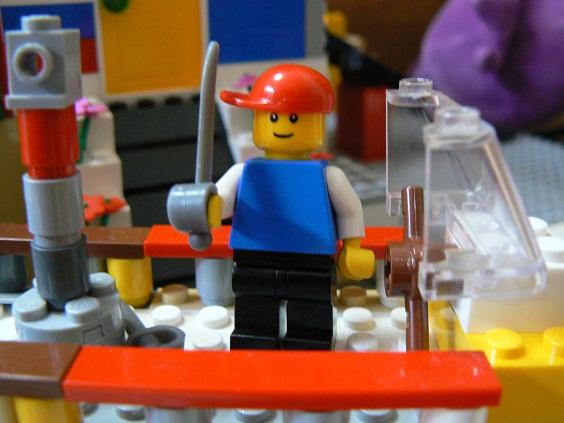 欠席中 レゴ4