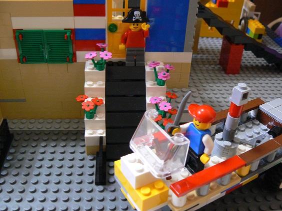 欠席中 レゴ6