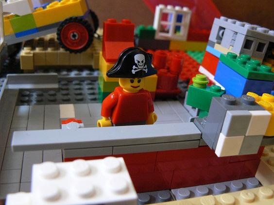 欠席中 レゴ7