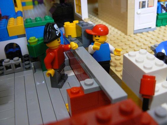 欠席中 レゴ9
