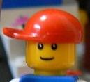 欠席中 レゴ4 ジョニー顔