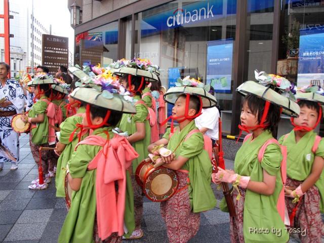 四条傘鉾の子供たち