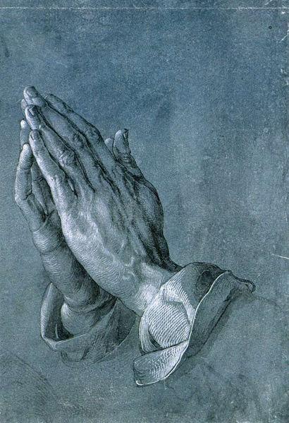 デューラー 祈りの手1