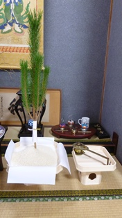 松三宝と香炉