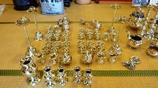 真鍮の仏具