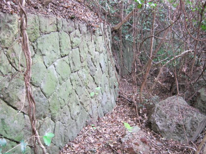 成山第2砲台12cmカノン砲座 (2)