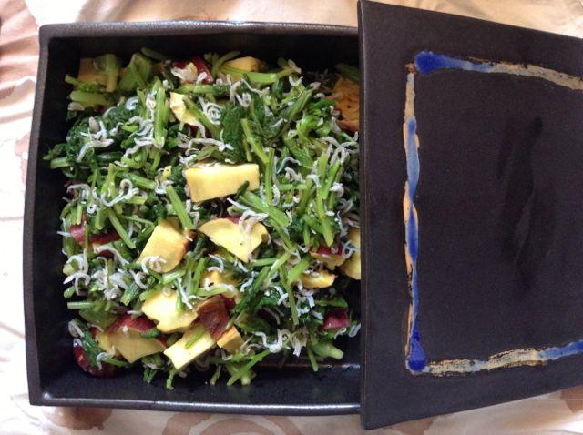 10:3・大根間引き菜サラダ