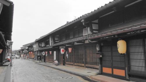 1803金屋町(千本格子の家並み)
