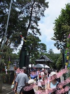 妙法寺お祭り