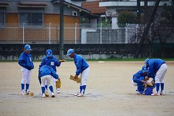 20130331王寺ドンキーズ練習試合 (2)