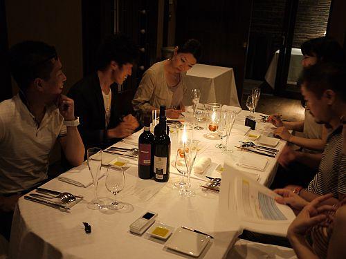 wine party 試食