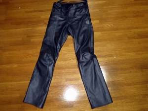 ST-X LEATHER PANTS[STRAIGHT]