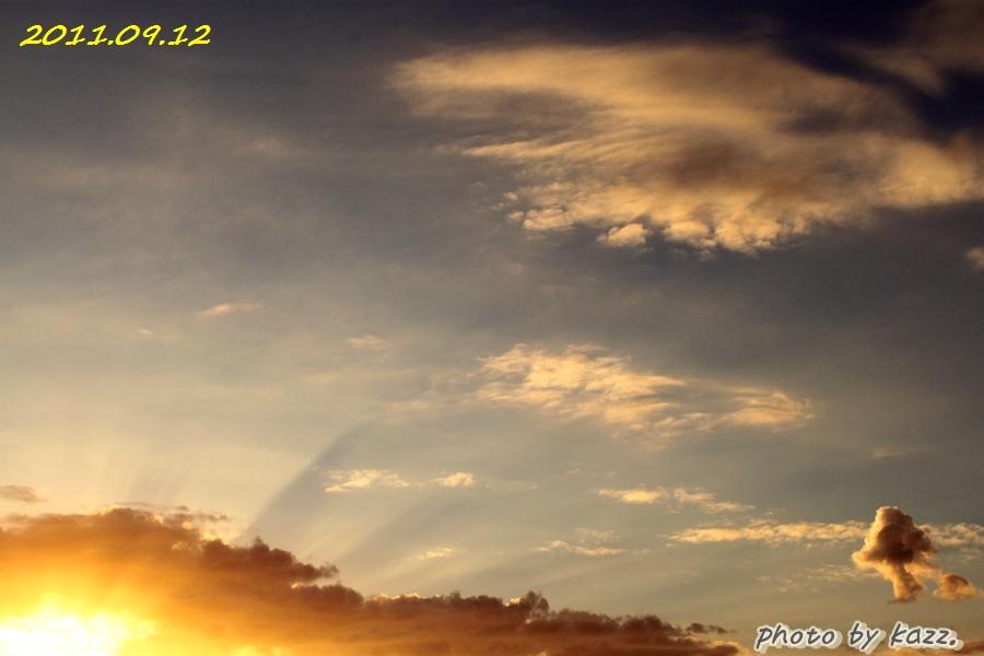 2011.09.12 夕陽