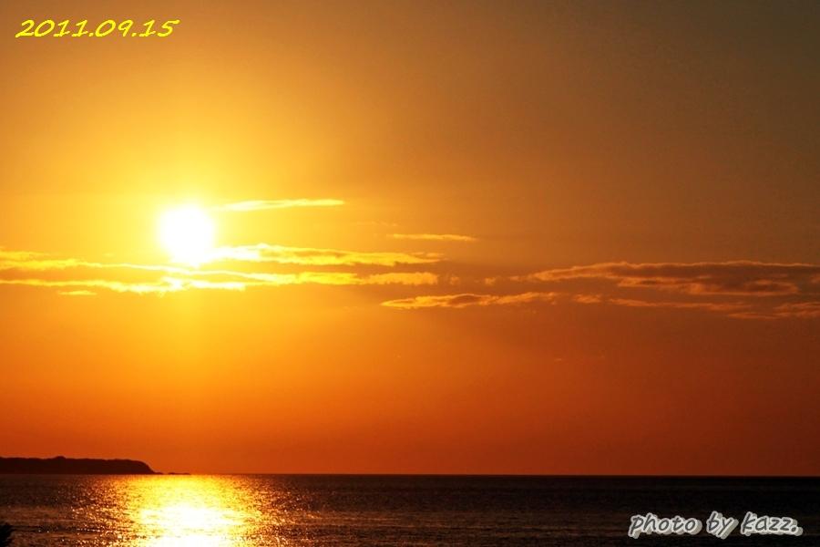 2011.09.15 夕陽