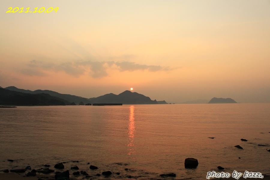2011.10.09 夕陽