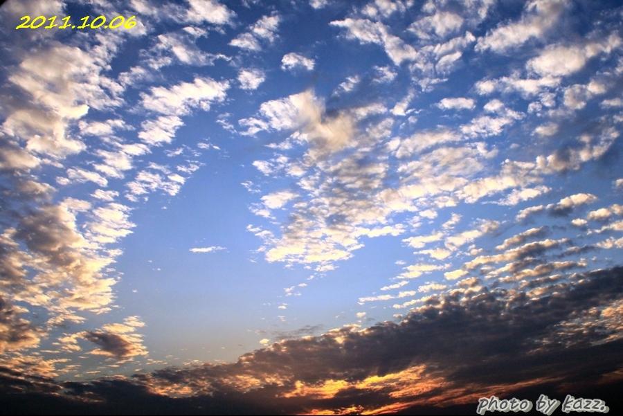 2011.10.06 夕陽